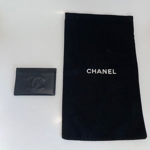 Authentic Vintage Chanel Timeless Card Holder